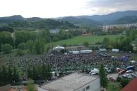 Majáles Banská Bystrica 2009 - areál atletického štadióna pod internátmi