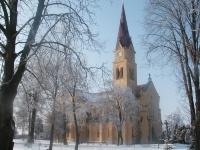 Rímsko-katolícky farský kostol Preblahoslovenej Panny Márie na Hlavnej ulici vo Vrábľoch